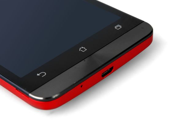 The ZenFone 5 has physical capacitive buttons, instead of them being a part of the OS.