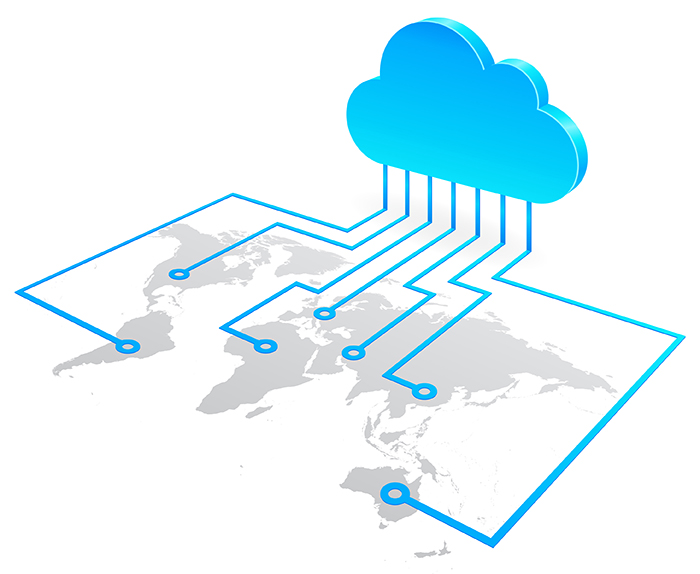 The cloud has become ubiquitous in our daily lives. (Source: Trigon.com)
