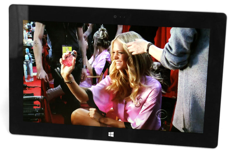 The Surface 2 has a fantastic display with bright, vivid colors, deep contrast and wide viewing angles.