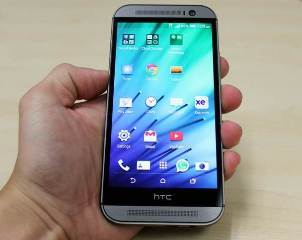 The HTC One (M8) was launched in Singapore on April 5.