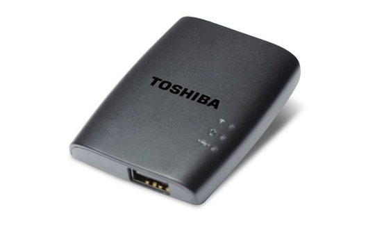 Toshiba's Stor.e wireless adapter.