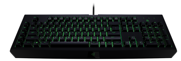 Razer's Blackwidow keyboard will be updated with Razer's new mechanical switches.