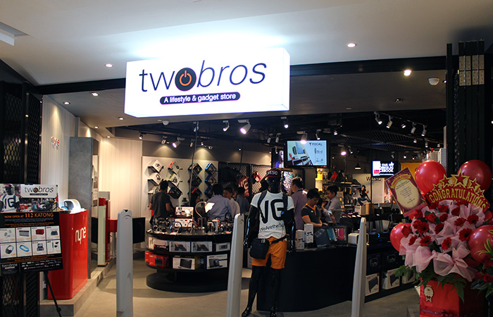 The new store at 112 Katong is TwoBros' fourth and offers a extensive range of lifestyle and tech products and gadgets.