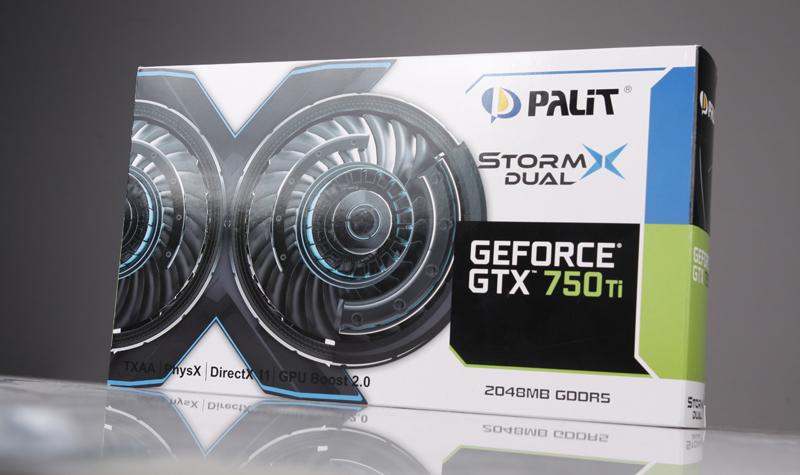 Palit GeForce GTX 750 Ti StormX Dual - Stellar Speed