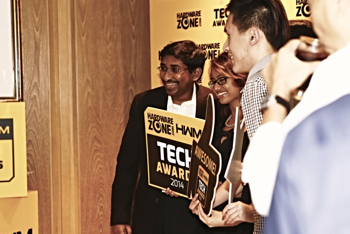 "No event is complete without a photo memoir. Can you say, ""Tech Awards Rocks!"""