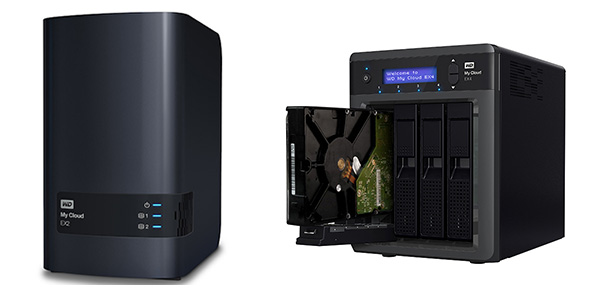 For users who demand more storage, redundancy or features, Western Digital also offers the two-bay My Cloud EX2 and the four-bay My Cloud EX4.