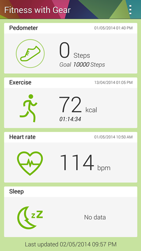 This is the Fitness with Gear app.