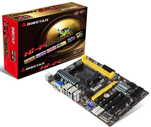 The Biostar Hi-Fi A88S2G.