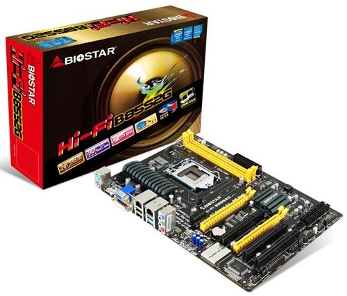The Biostar Hi-Fi B85S2G.