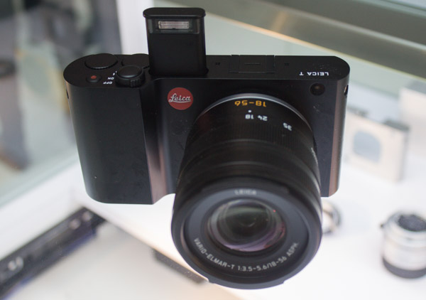 The pop-up flash on the Leica T comes up quite a bit, which helps to avoid red-eye.