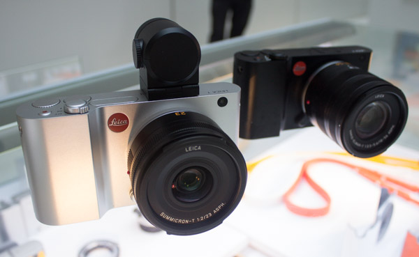 The Leica T comes in silver or black.