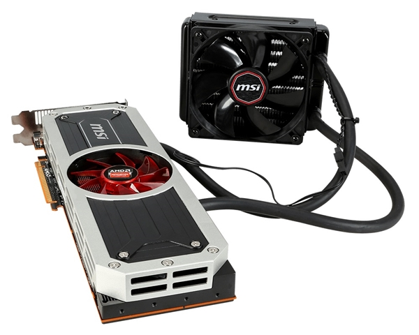 Top-End MSI R9 295X2 8GD5 Graphics Card Available Now