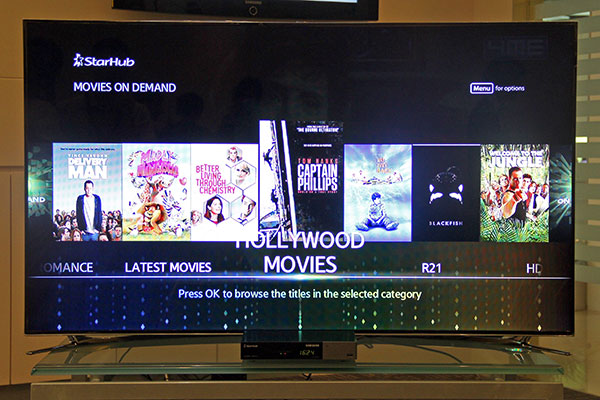 StarHub's Newest HD Interactive Set-top Box is Fast, Easy to Use