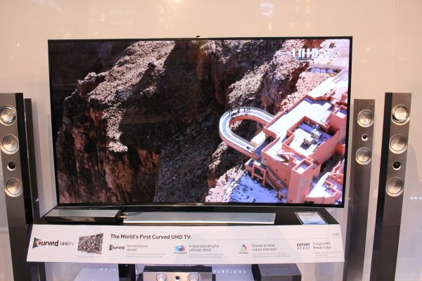 the 65inch u9000 series curved uhd tv from samsung - 65 Inch Curved Tv