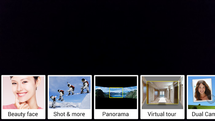 Shooting modes on the Galaxy S5 are quite limited when you compare them to other offerings.