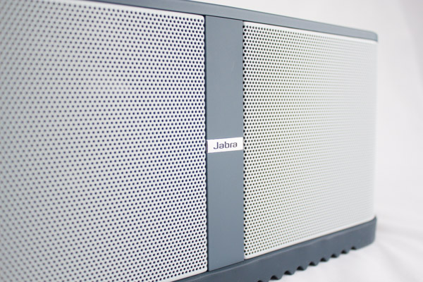 The perforated steel grill gives the Solemate Max an industrial look.