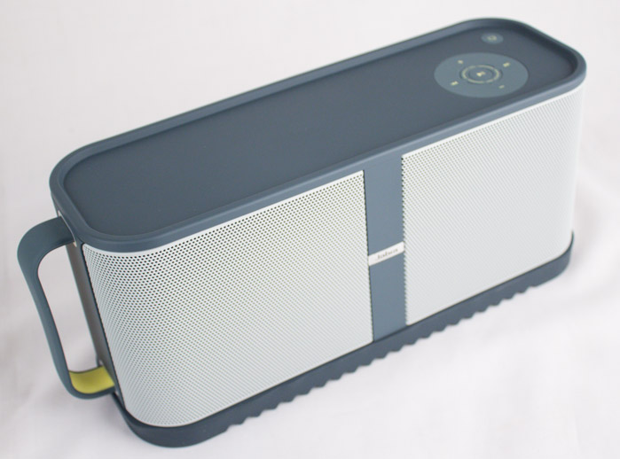 The Solemate Max is a sizeable speaker, and generates plenty of sound.