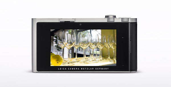 "The Leica T features a 3.7"" TFT LCD touchscreen."