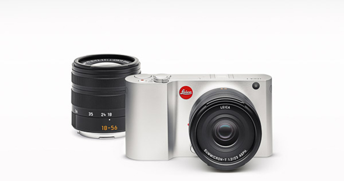 The new Leica T-series camera.