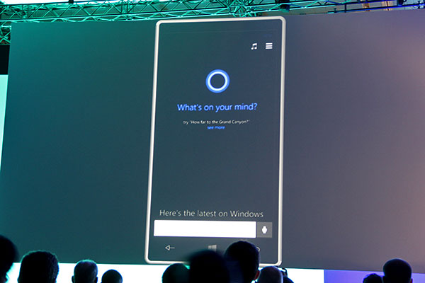 Siri, this is Cortana.