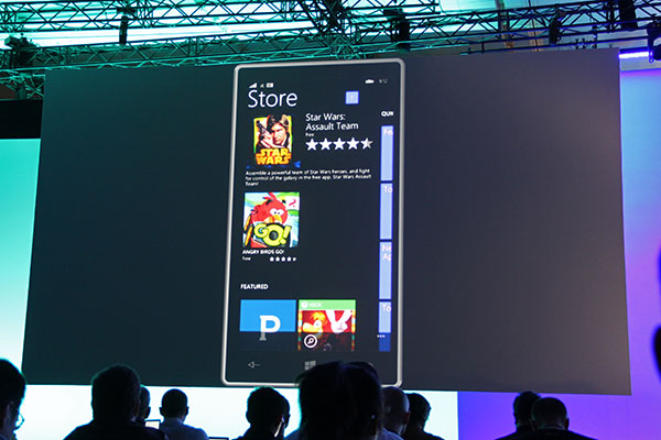 A revamped Windows Phone Store for easier discovery of apps.