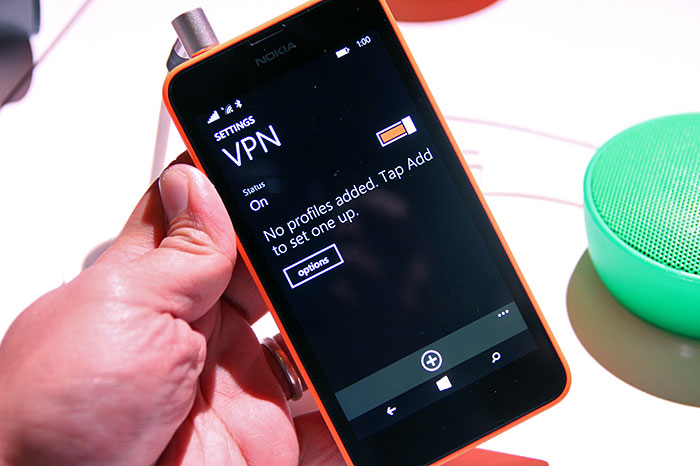 A common user request, VPN support finally comes to Windows Phone.