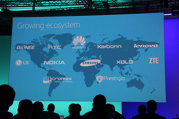 Two new hardware partners - Prestigio and Micromax - are added.