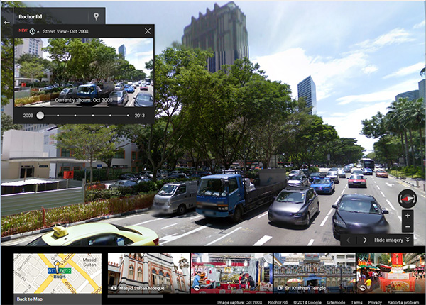 Go Back in Time with Google Maps - Hardone.com.sg Go Back In Time Google Maps on google time clock, google time diagram, world time map, google maps street view 2012, google time logo, zong time map, tv time map, nist time map,