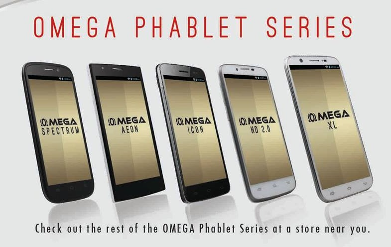 Cherry Mobile's Omega Series Smartphones
