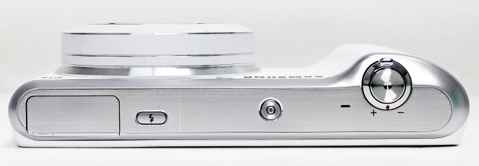 You won't find too many physical buttons or controls on the Samsung Galaxy Camera 2.