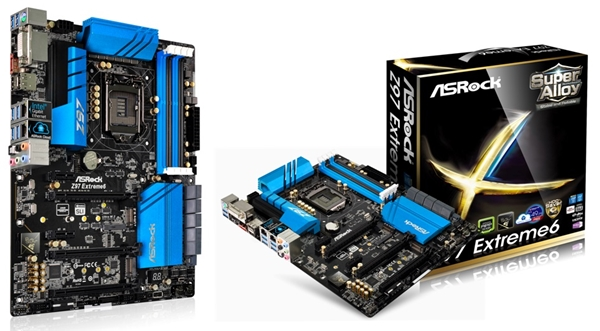 The ASRock Z97 Extreme6 motherboard. (Image Source: ASRock)