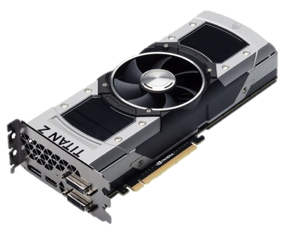 The ASUS GeForce GTX Titan Z. (Image Source: ASUS)