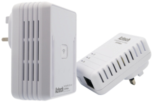 Aztech HL113E/EW HomePlug Wireless-N Starter Kit