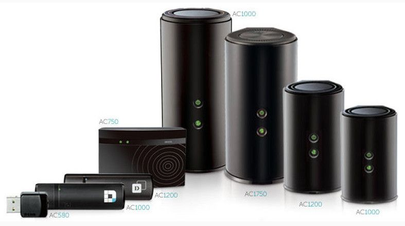 D-link new range of AC11 routers.