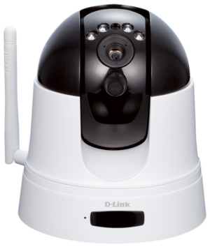 D-Link DCS-5222L mydlink Cloud HD Wireless PTZ Infrared IP Camera