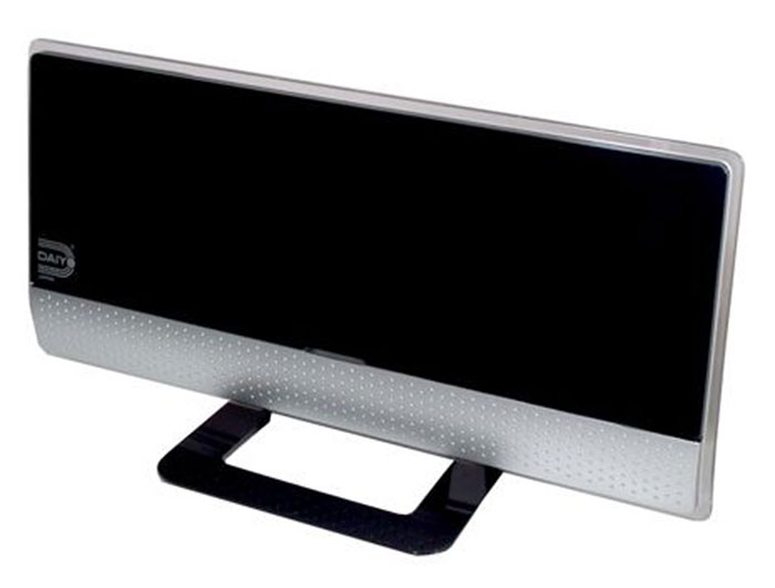 The Daiyo EU1702 indoor antenna can be found in megastores like Best Denki and Courts.