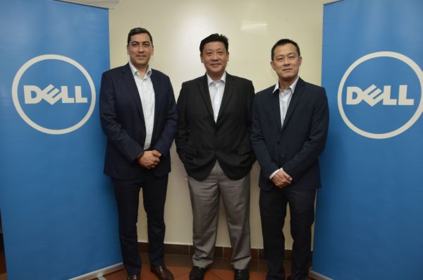 From L-R: Sumir Bhatia, General Manager - South Asia, Enterprise Solutions, Dell Global B.V.; K.T. Ong, General Manager, Consumer and Commercial Business, Dell Malaysia; and William Tan, Country Leader, Enterprise, Dell Malaysia.