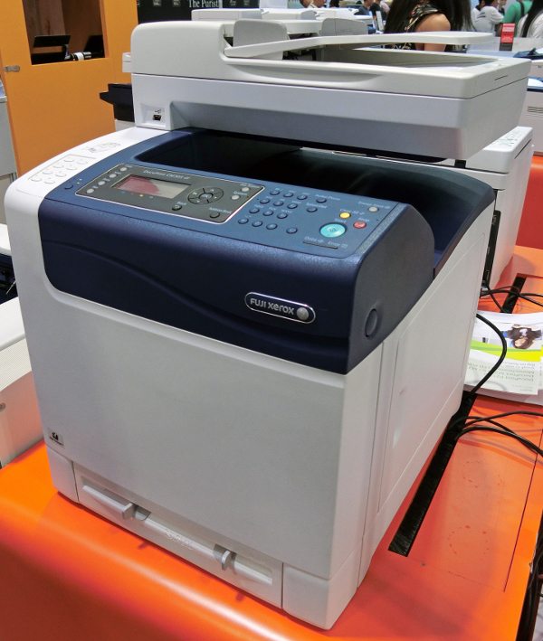 The fuji xerox docuprint cm305 df provides good value with its print