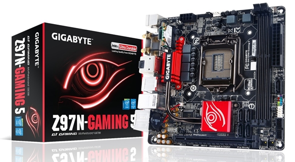 The GA-Z97N-Gaming 5. (Image Source: Gigabyte)