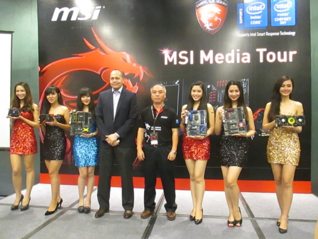 Highlighting the strong partnership between Intel and MSI, Intel's Reseller Channel Organization (AP) Ferhad Patel, and MSI's Senior Vice President and Founder Henry Lu graced the MSI Media Tour in Saigon, Vietnam.