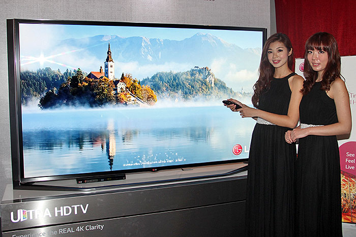 Lg S Webos Running 4k Tvs Have Arrived In Singapore