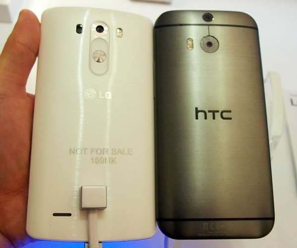 LG managed to give the G3 an almost similar look and feel to the HTC One (M8).