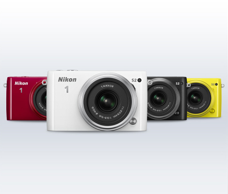The new Nikon 1 S2 will be available in four colors!
