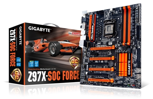 GA-Z97X-SOC Force (Image Source: Gigabyte)