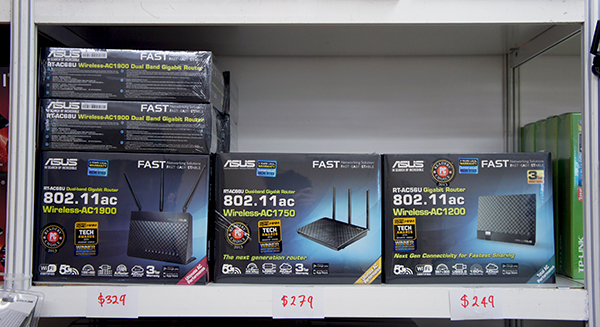 The flagship RT-AC68U router is going for $329, which represents savings of around $30. However, if that is overkill, you can also consider the RT-AC66U or RT-AC56U.