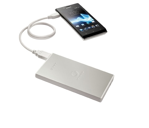 The CP-F2LSA's aluminum body emphasizes the trademark Sony design in their products.