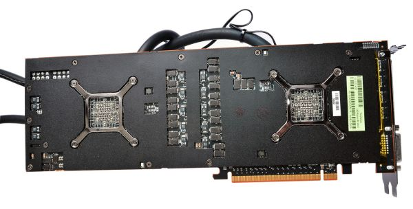 That there are two of AMD's most powerful GPU memory modules ever made, fitted unto a single card.