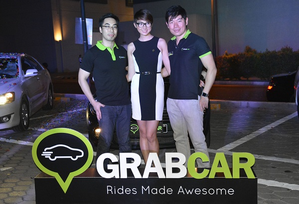 The free GrabTaxi app, which incorporates the GrabCar function for smartphones and tablets, is available on Google Play (Android), App Store (iOS), Windows Phone, and the BlackBerry World app store.
