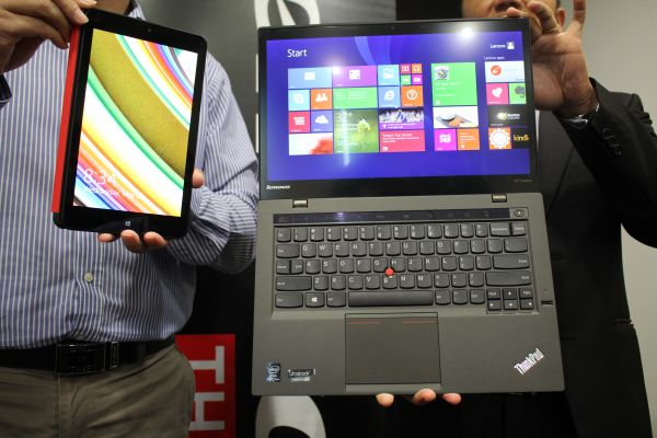Both the Lenovo ThinkPad X1 Carbon and Tablet 8 are already available here in Malaysia.