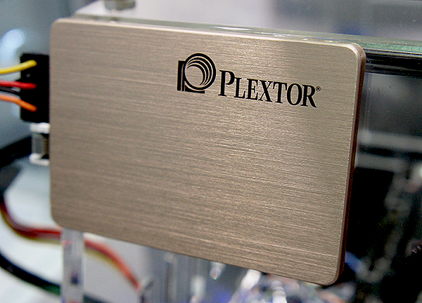 The new Plextor M6 Pro looks just like any other Plextor drive.